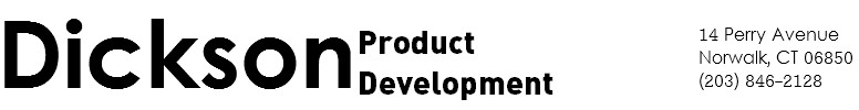 Dickson Product Development